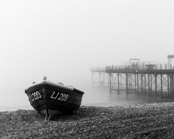 Boat by the pier