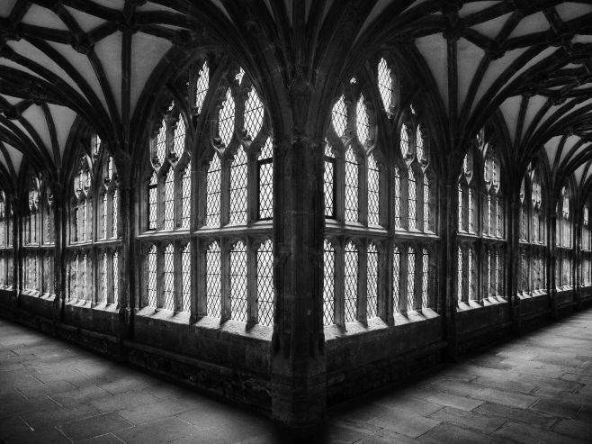 The Cloisters in Wells Cathedral