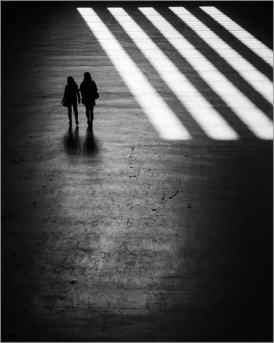 Light crossing