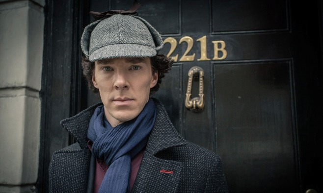 Benedict Cumberbatch as Sherlock Holmes in the BBC series Sherlock. Photograph: Robert Viglasky/PA