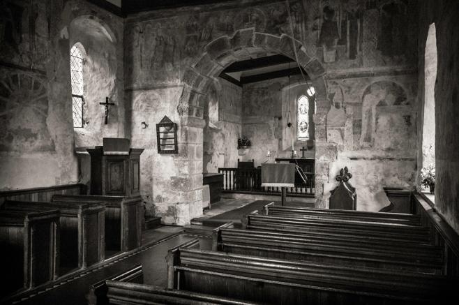 Hardham Church Interior