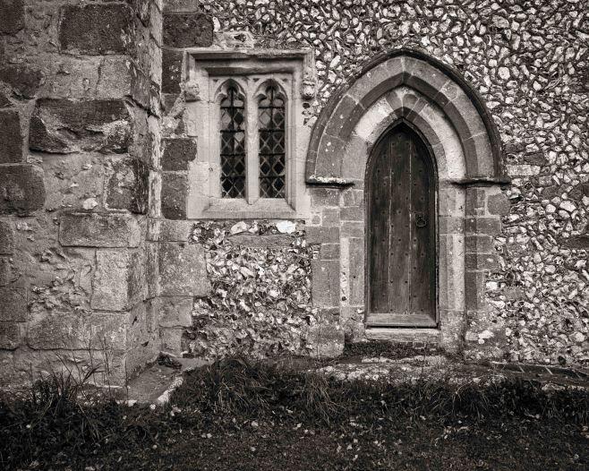 Chancel door