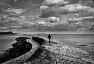 Alone on The Cobb