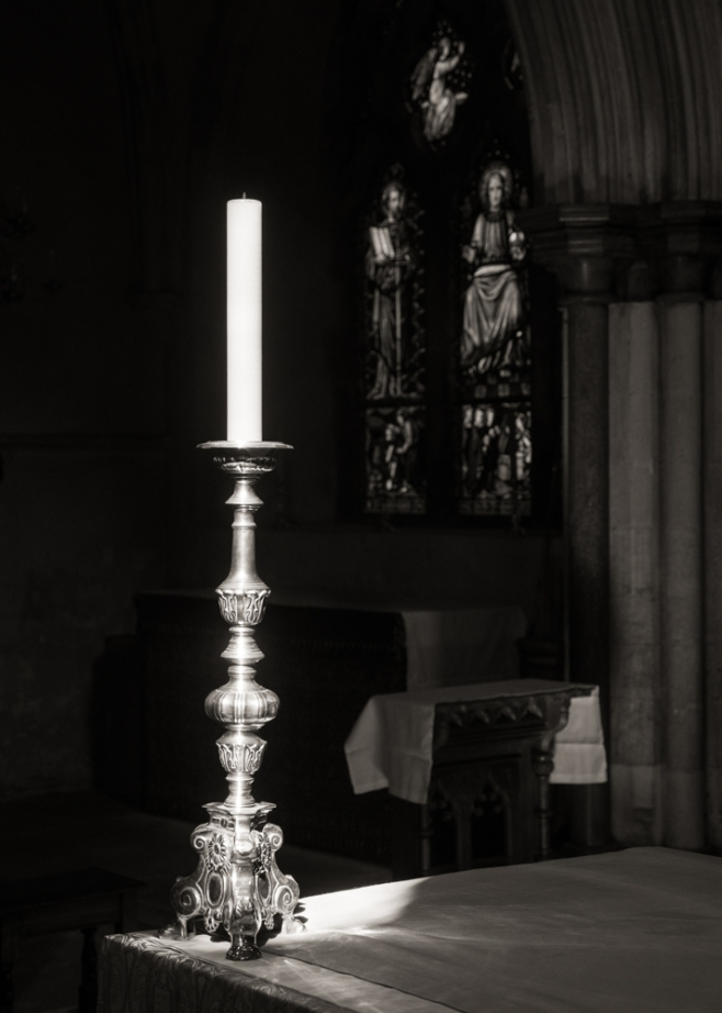 Candlelight in The Priory
