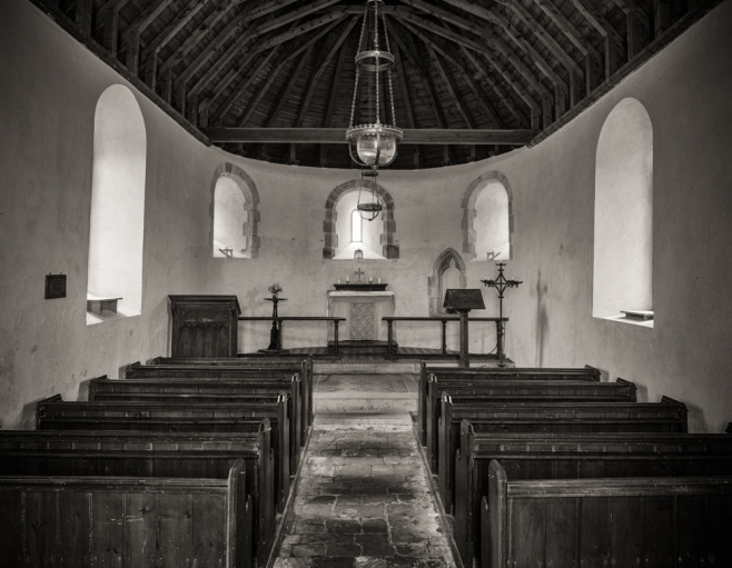 Nave of North Marden Church