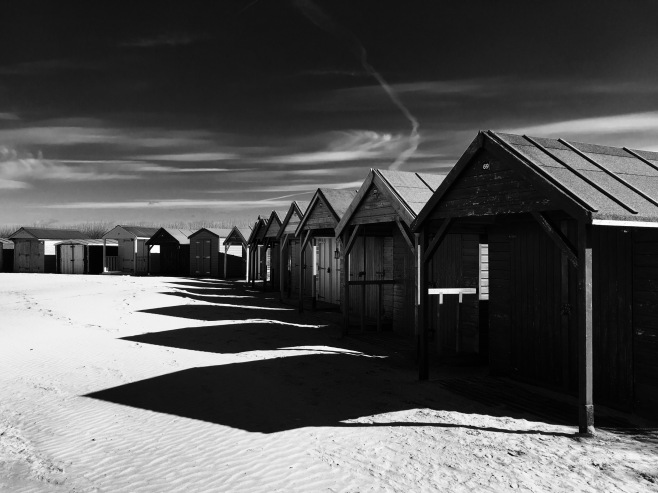 Huts at Wittering