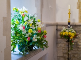 Easter in Fishbourne Church-5