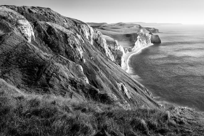 Jurrasic Coast from White Nothe